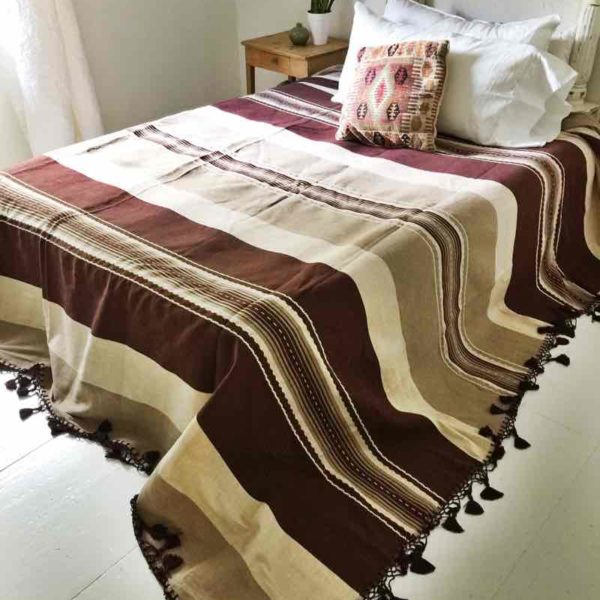 Brown and Beige Bedding